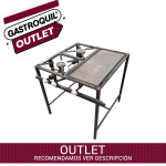 anafe 2h con plancha outlet